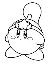 Kirby Coloring Pages Coloriage Kirby Coloriage A Imprimer