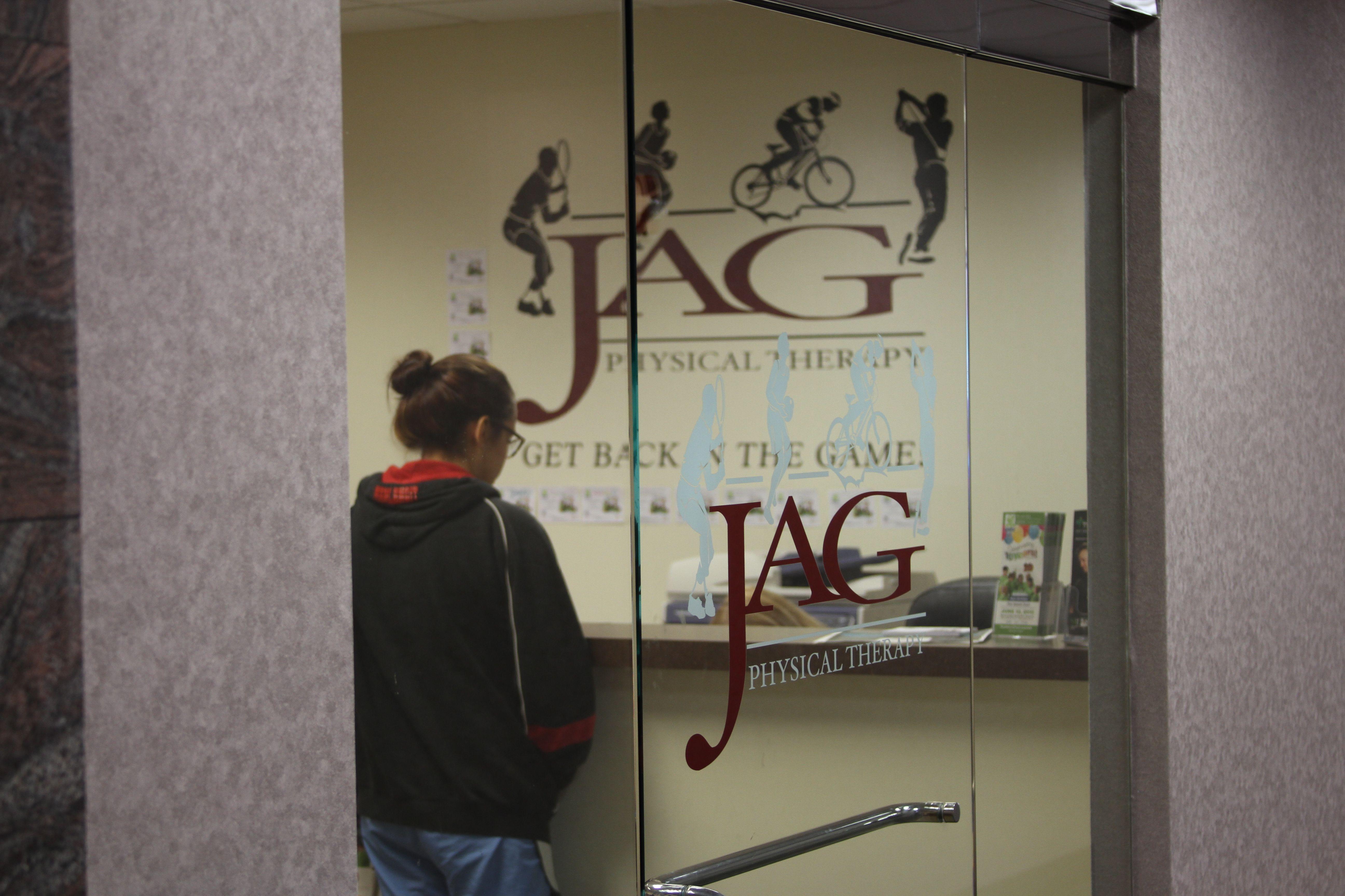 Entrance to JAG Suite