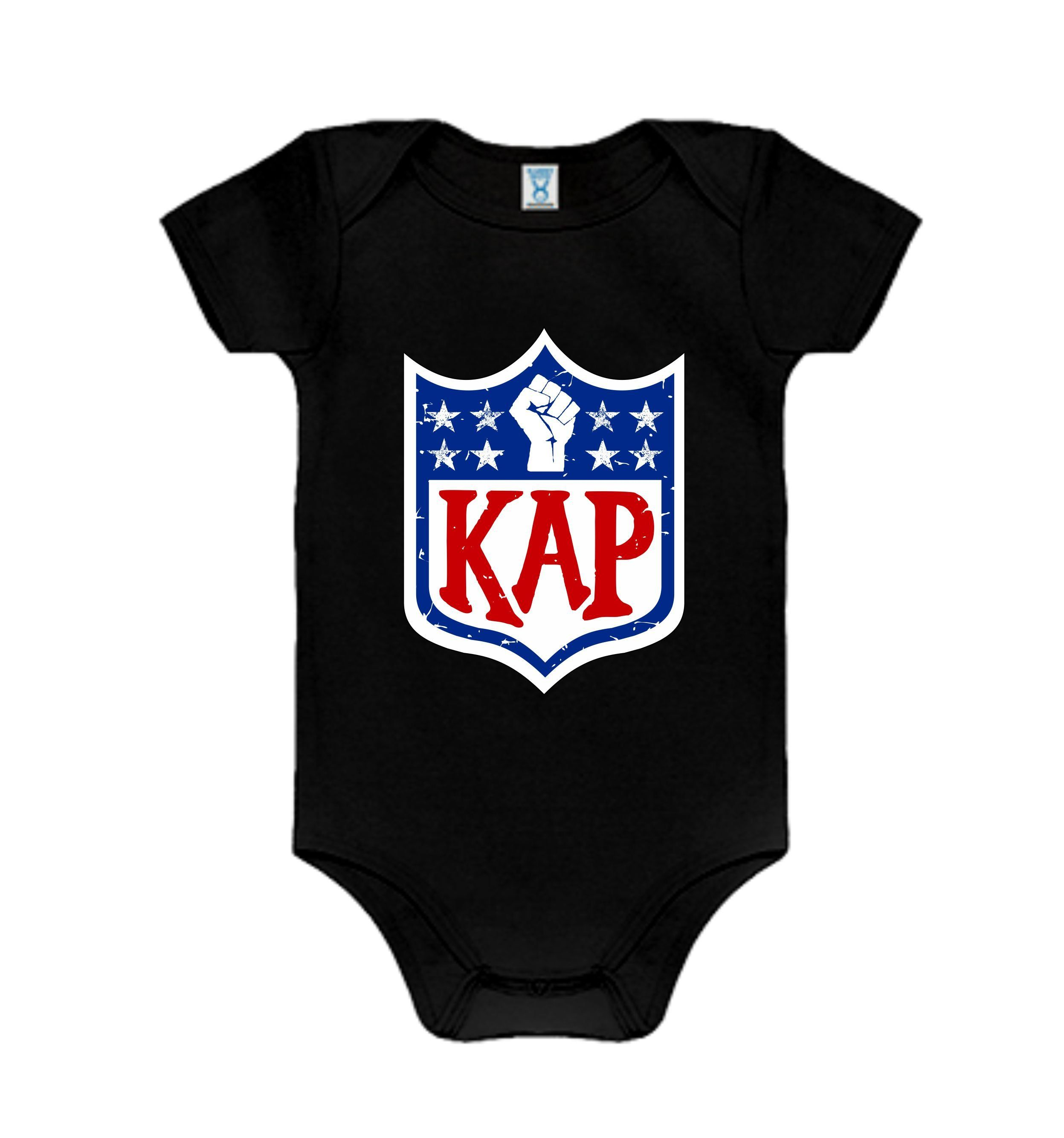 9edefcb06 Colin Kaepernick Kap NFL shield Inspired Graphic Onesie by AtlantasOwn on  Etsy Colin Kaepernick