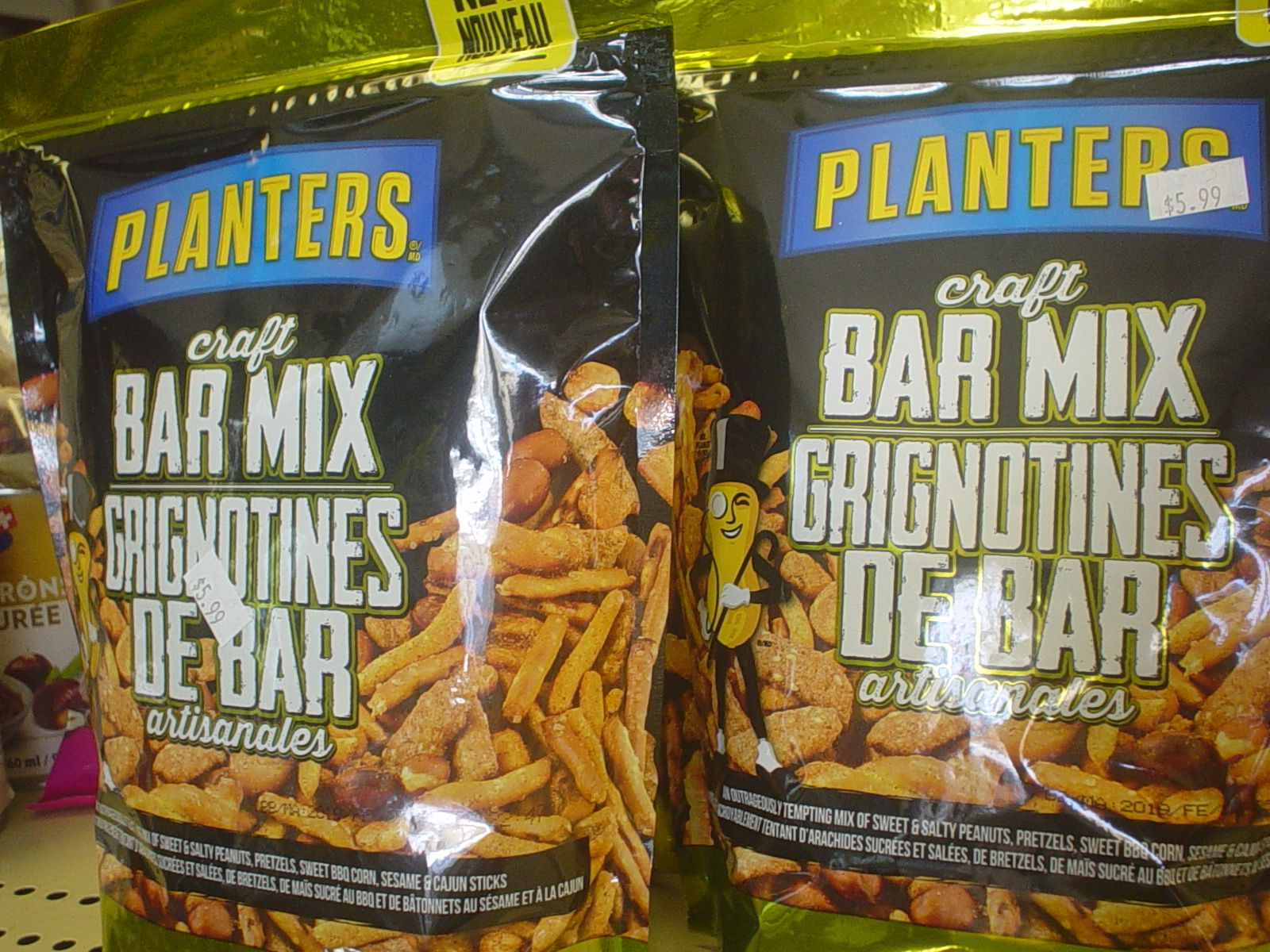 Snack on this Planters Bar Mix! Very tasty and great for