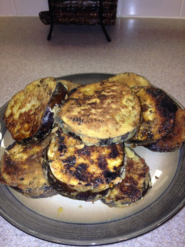 Gluten free fried eggplant try to make without eggs