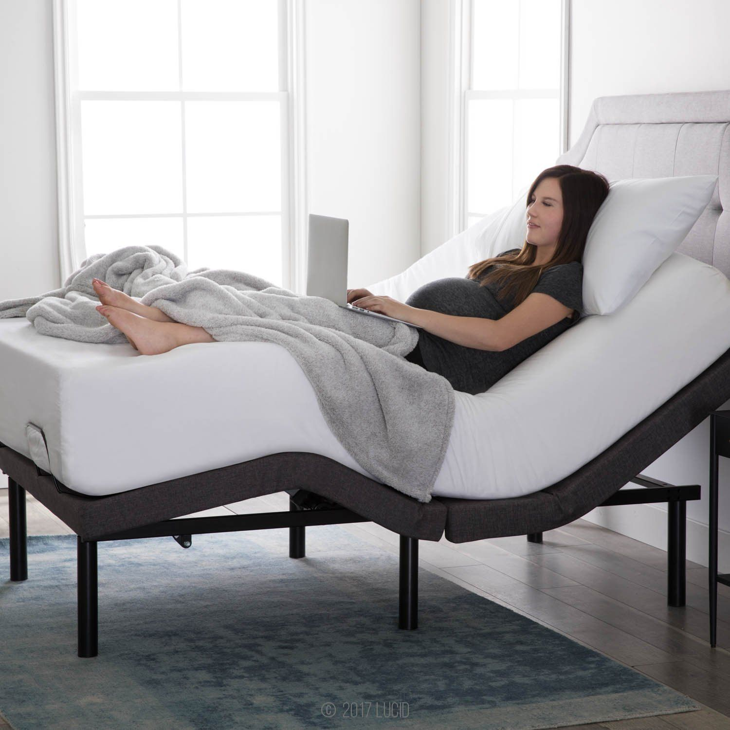 adjustable bed base takes your netflix movie night detective novel