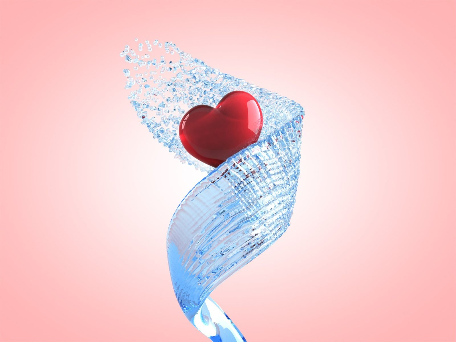 heart 3d wallpaper | 3d wallpapers | pinterest | wallpaper and