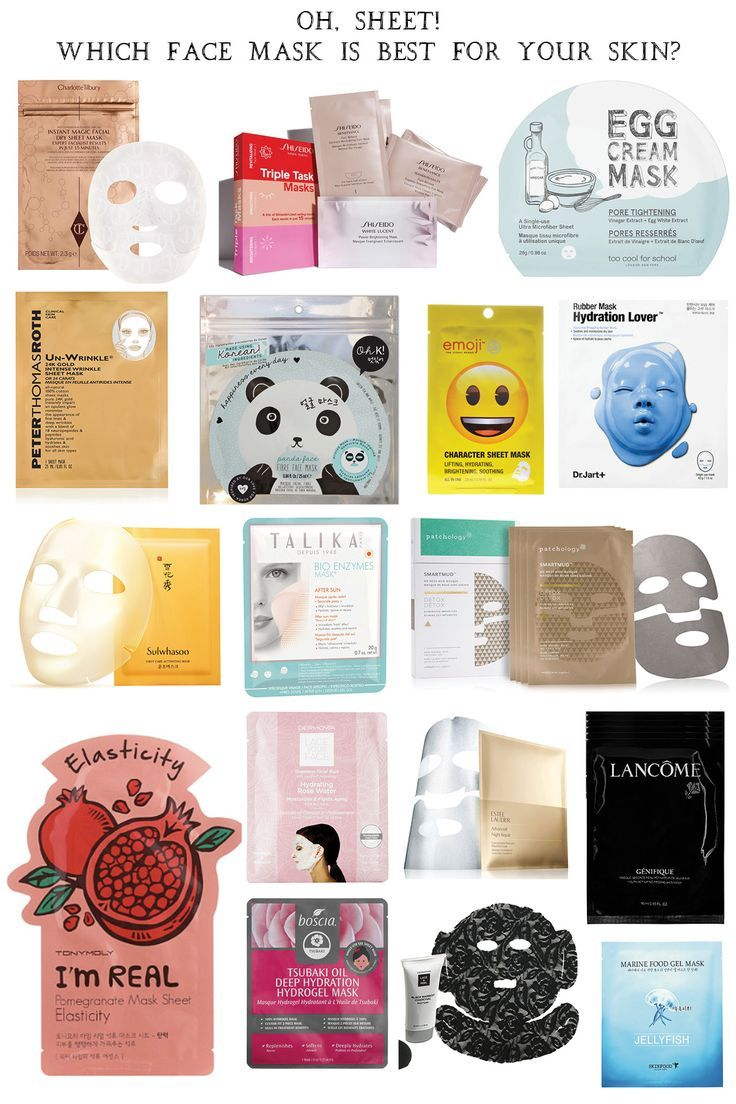 How To Pick The Best Sheet Mask For Your Skin Face Masks Beauty Tips And Tricks Egg Cream
