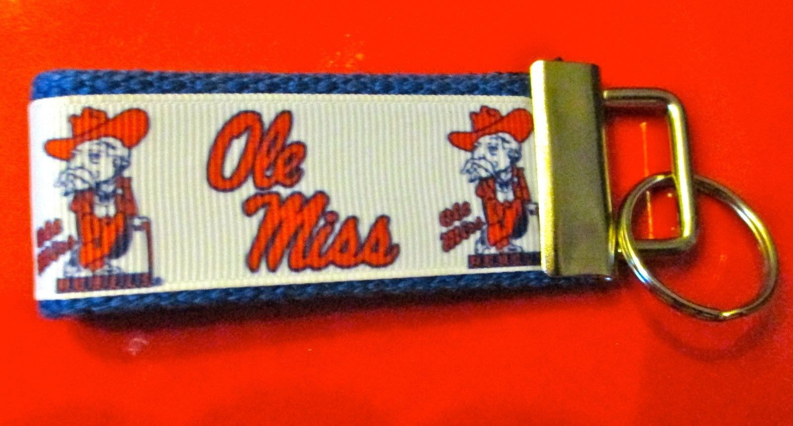 1c8e80847d4 Ole Miss Colonel Reb Key Chain