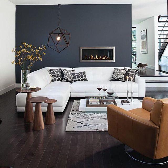 So damn sexy! Pass me that vino 🍷🍷 #HartLdn #HomeDecor #HomeIdeas - wohnzimmer blau grau