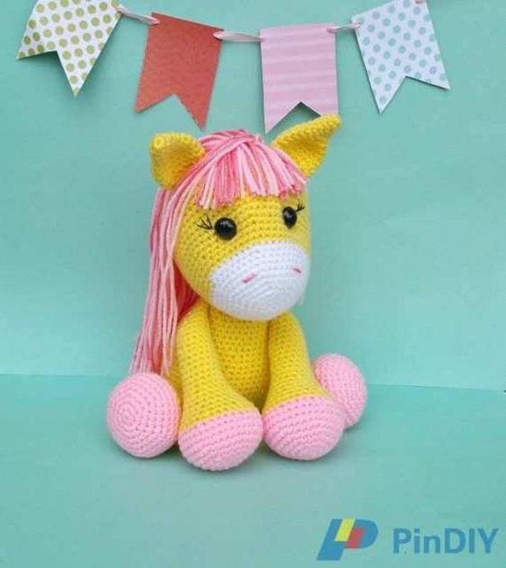 Free Crochet Unicorn Pattern - Red Ted Art - Make crafting with ...   631x563