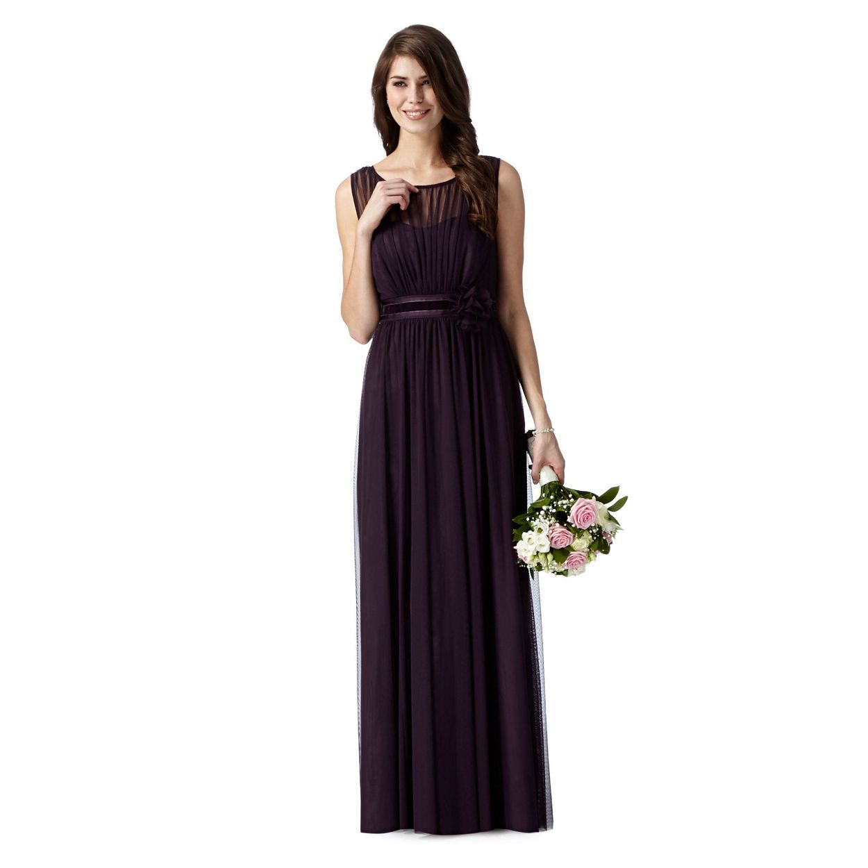 Debut purple mesh corsage maxi dress at debenhams debut purple mesh corsage maxi dress at debenhams purple maxi dressesbridesmaid ideaswedding ombrellifo Gallery