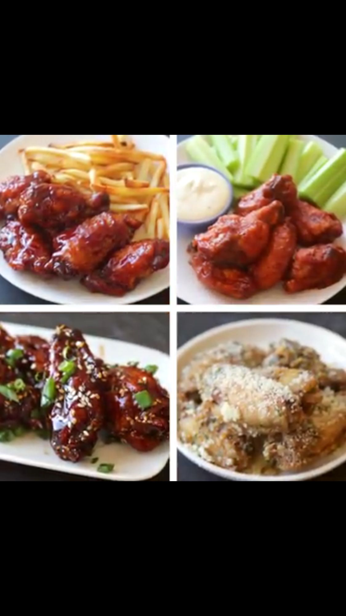 Chicken wings 4 ways eventsholidaysparties pinterest chicken wings 4 ways recipe in a medium bowl stir together the flour salt and pepper toss the chicken wings in the flour mixture coating them evenly forumfinder Image collections