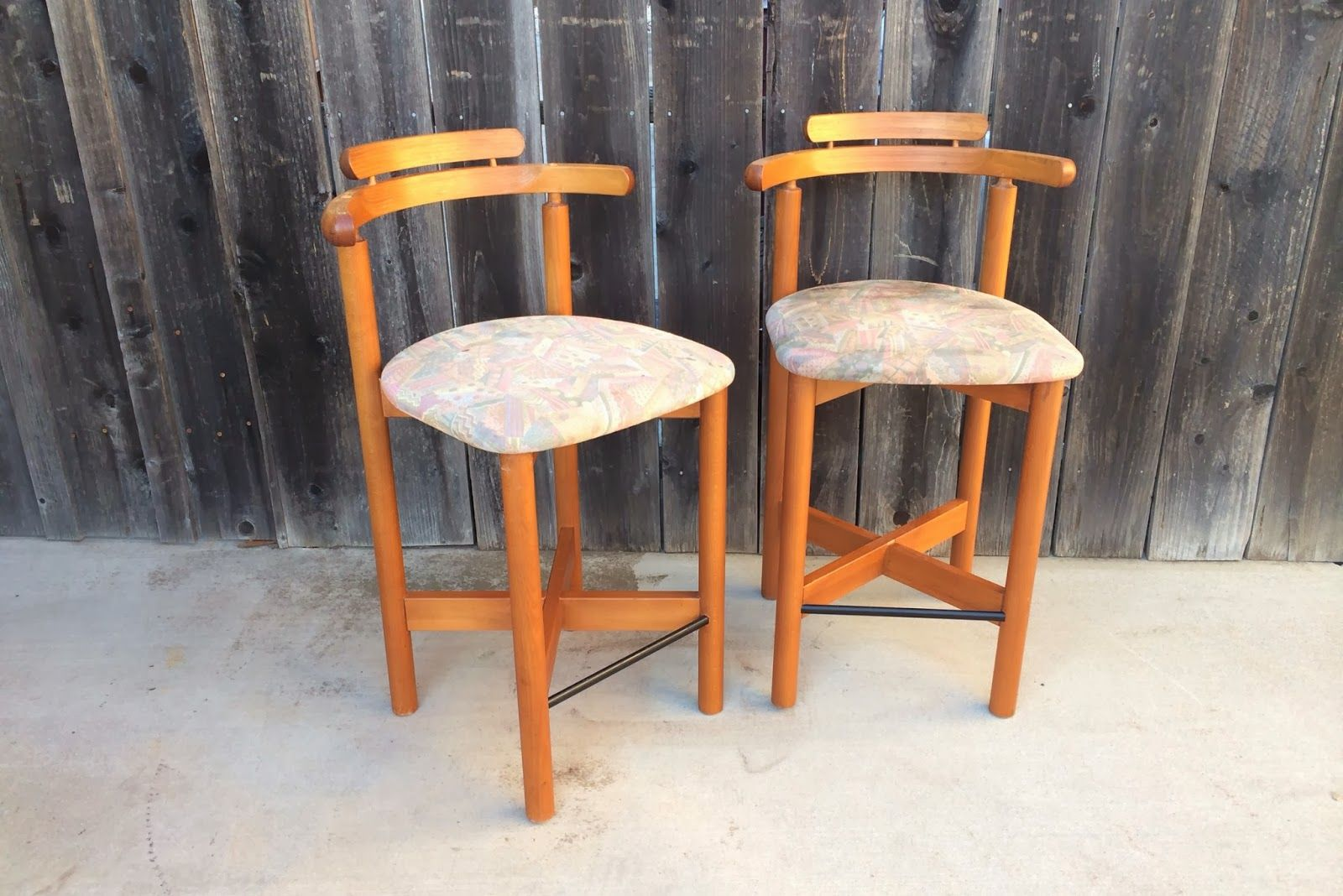 Gangso Mobler Bar Stools Good Vintage Condition Bar Stools