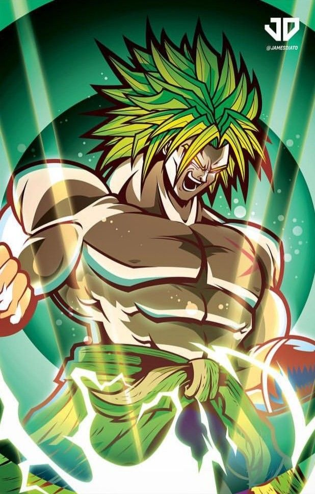 Broly super saiyajin legendario my favorites pinterest - Broly dragon ball gt ...