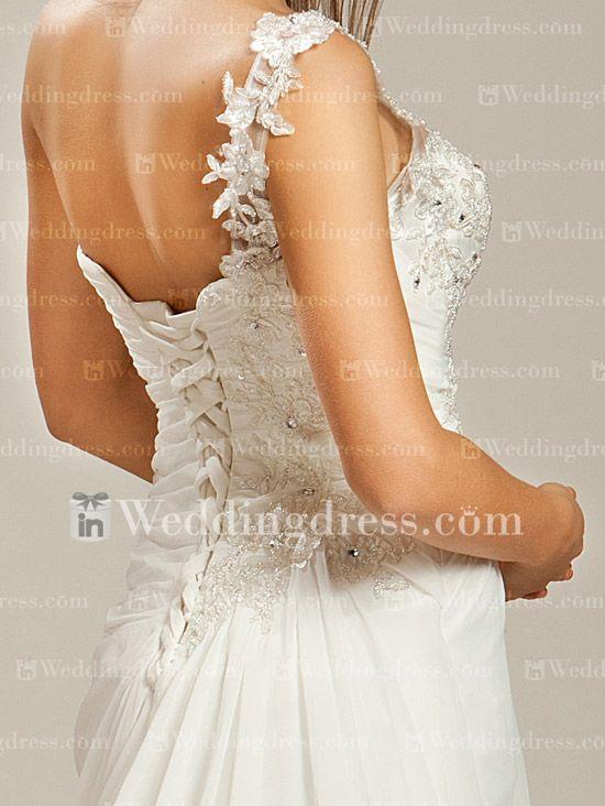 Modest Beach Wedding Dress