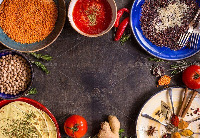 Indian Asian Food Background Food Asian Recipes Food Backgrounds