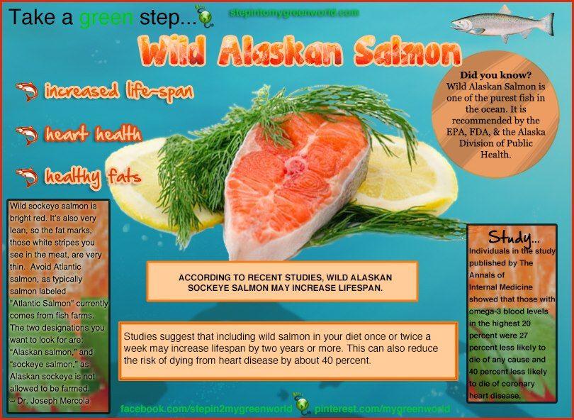 Health benefits of wild Alaskan salmon | Wild alaskan ...