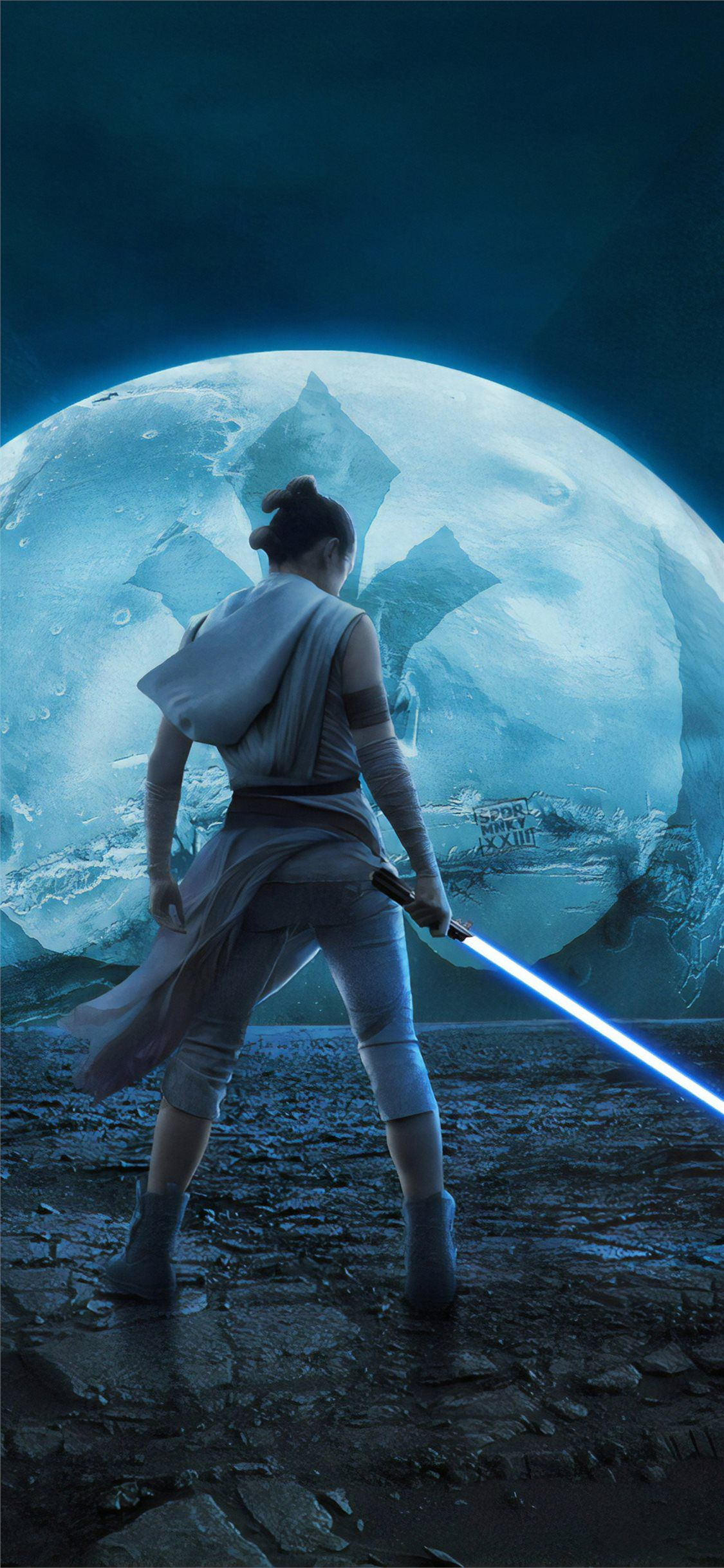 star wars the rise of skywalker new iPhone X Wallpapers