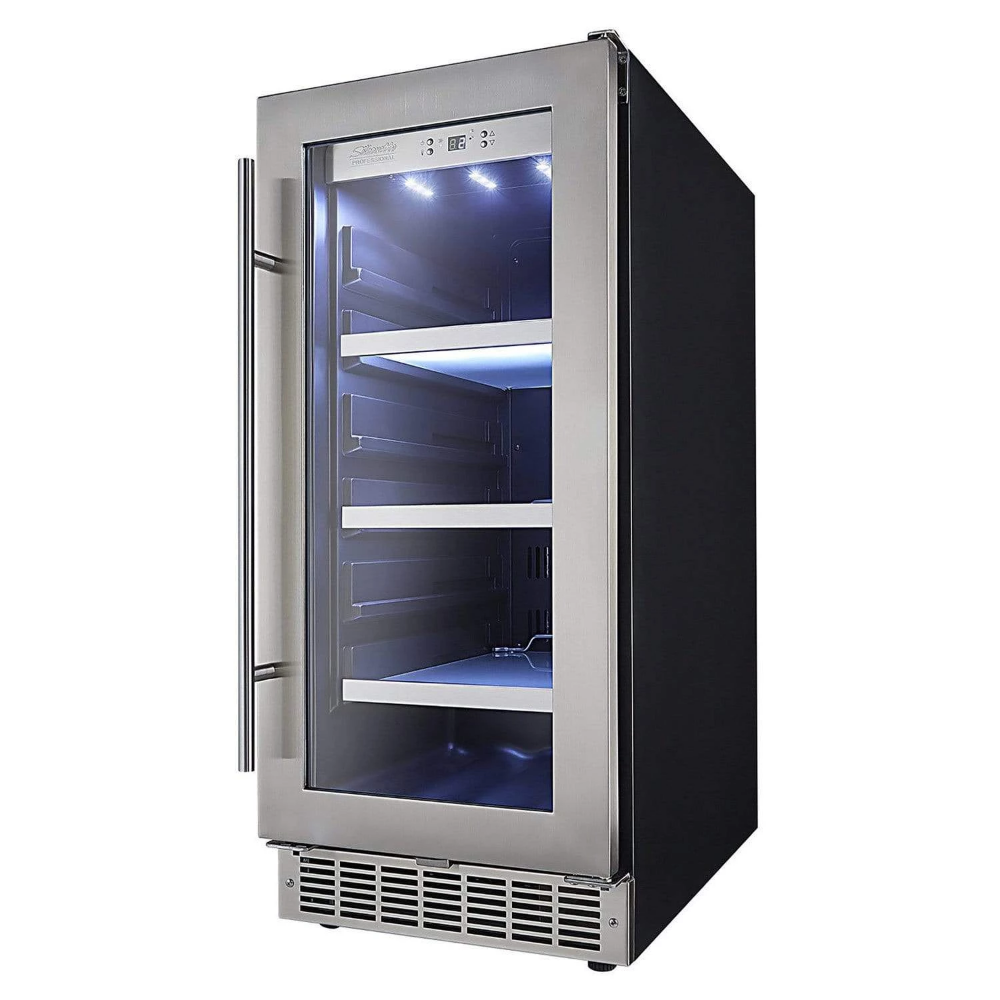 Danby Silhouette Professional Piedmont 15 Single Zone Built In Beverage Fridge Dbc031d4bsspr With Images Locker Storage Bars For Home Home Warranty