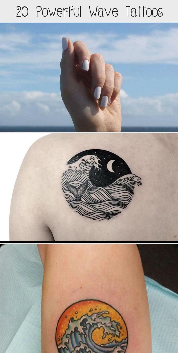 Photo of 20 leistungsstarke Wave Tattoos – Tattoo –  20 leistungsstarke Wave Tattoos #tra…