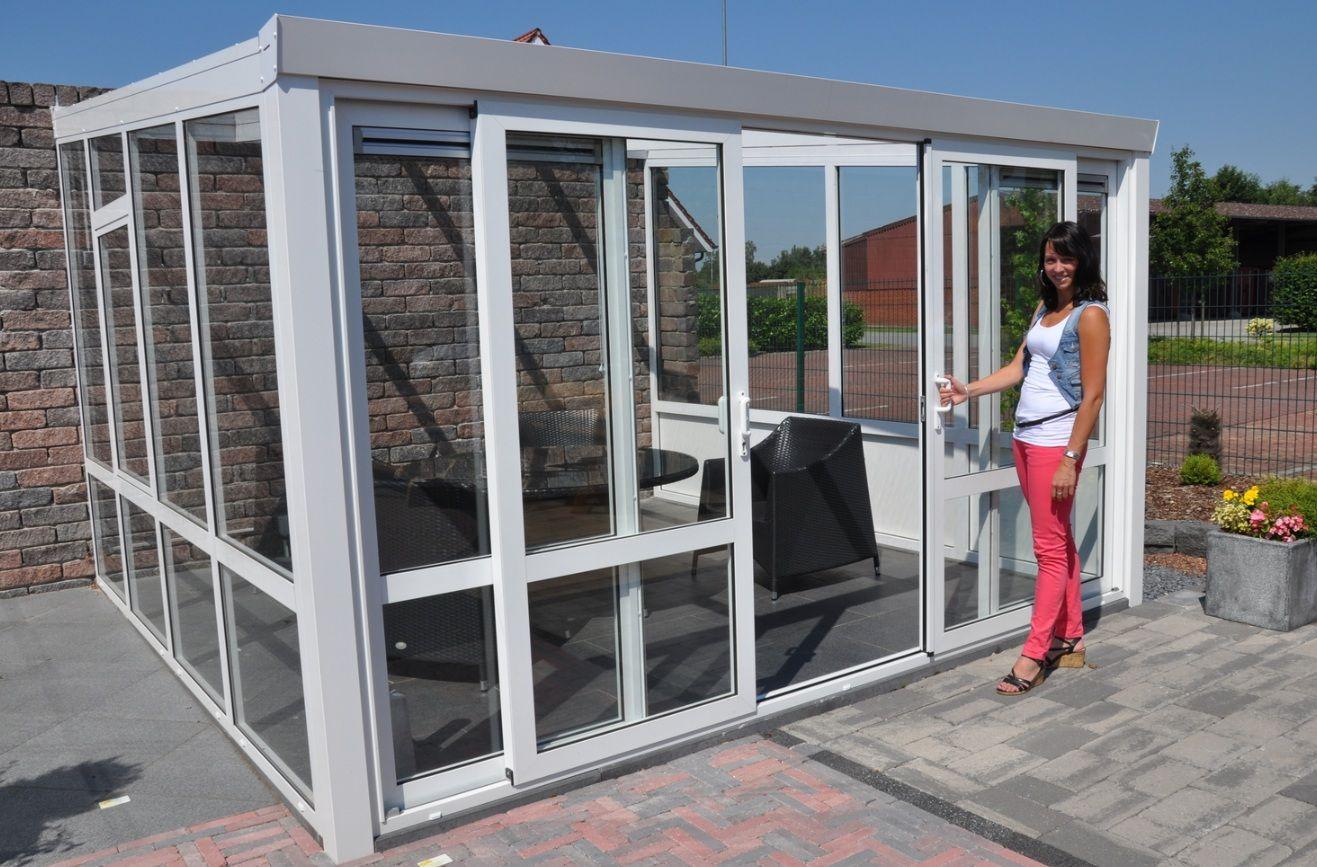 Verande Mobili ~ Veranda completa in vetro con porte scorrevoli home pinterest