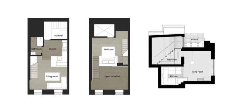 Perfect Manhattan 425 Sq Ft Micro Loft Apartment Renovation Project