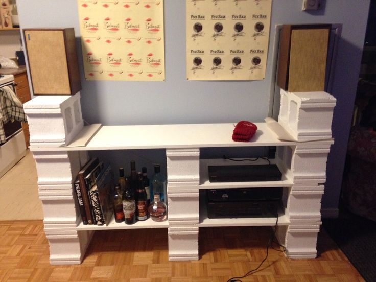 creative uses for cinder blocks