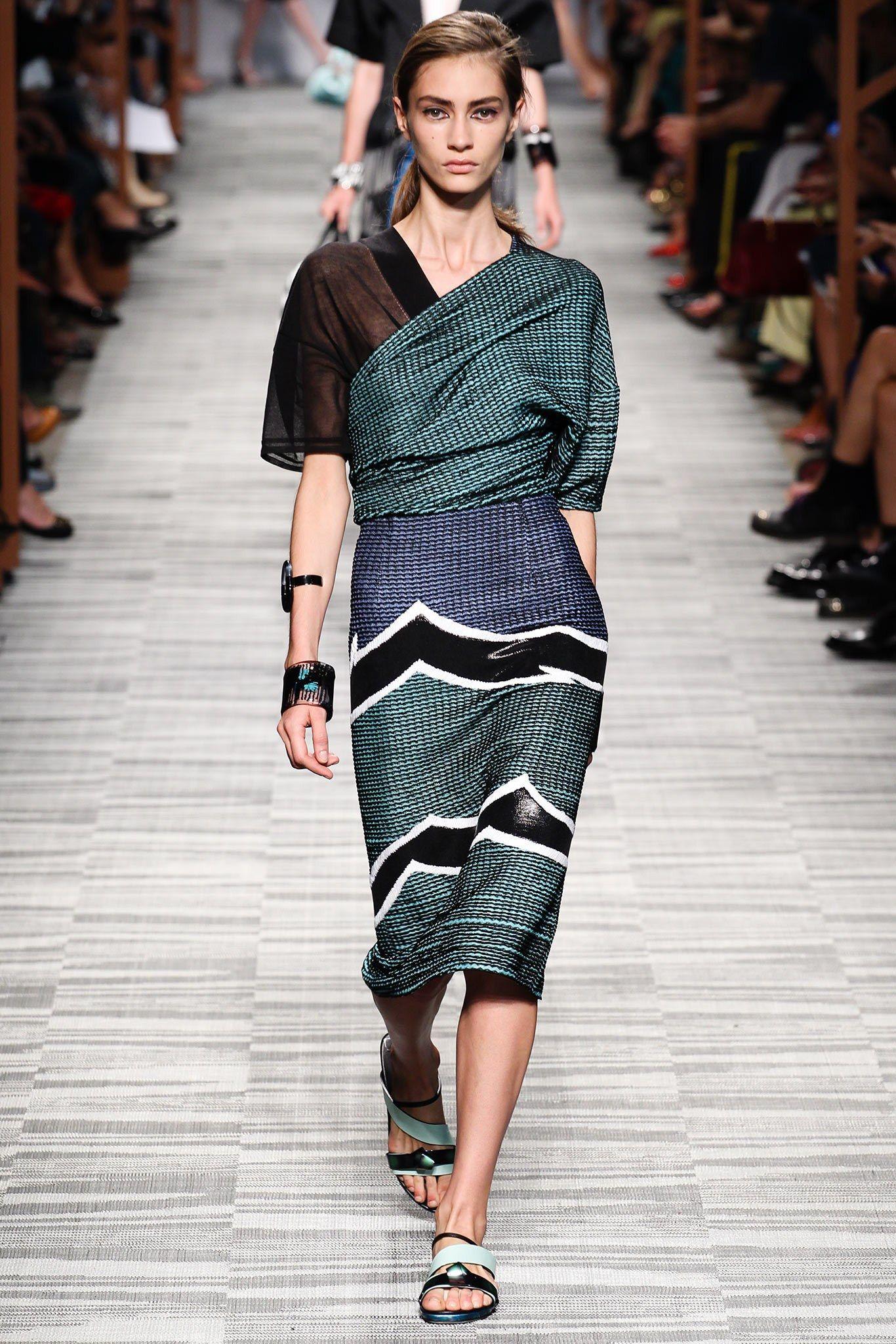 Missoni Spring 2014 Ready-to-Wear Fashion Show - Marine Deleeuw