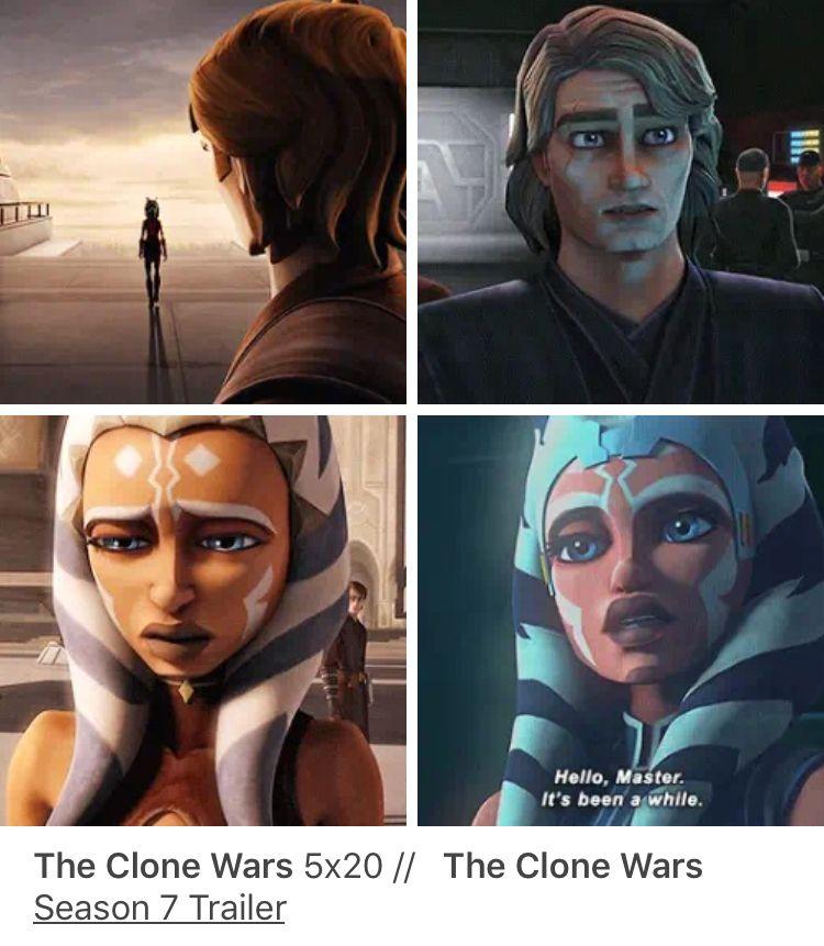 Anakin And Ahsoka Star Wars Ahsoka Star Wars Anakin Star Wars Clone Wars