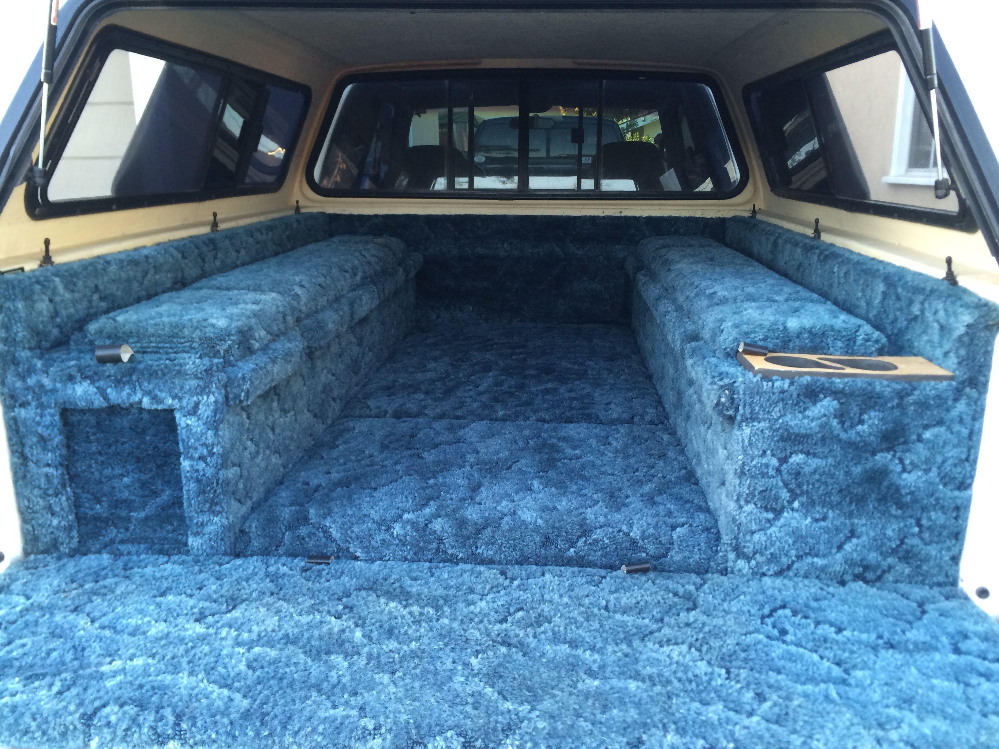 25 Year Old Lee Anderson Custom Carpet Kit Truck Camping Custom Carpet 25 Years Old