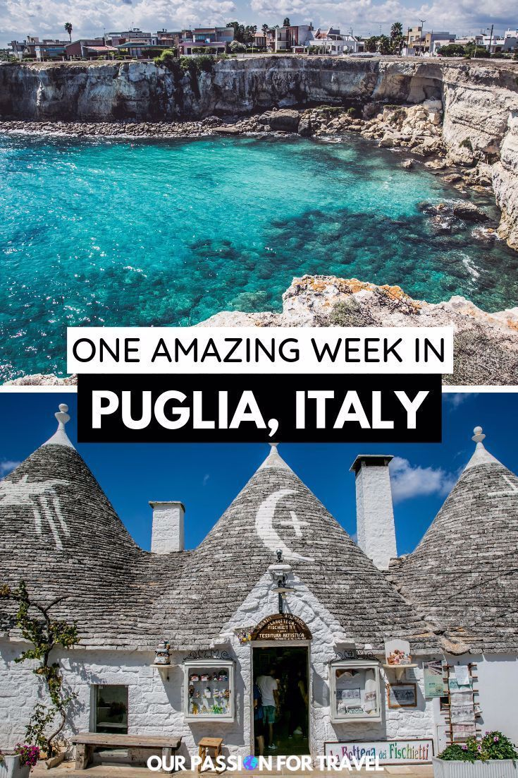 Discover all the top things to do on an amazing one week road trip through Puglia in Italy. The