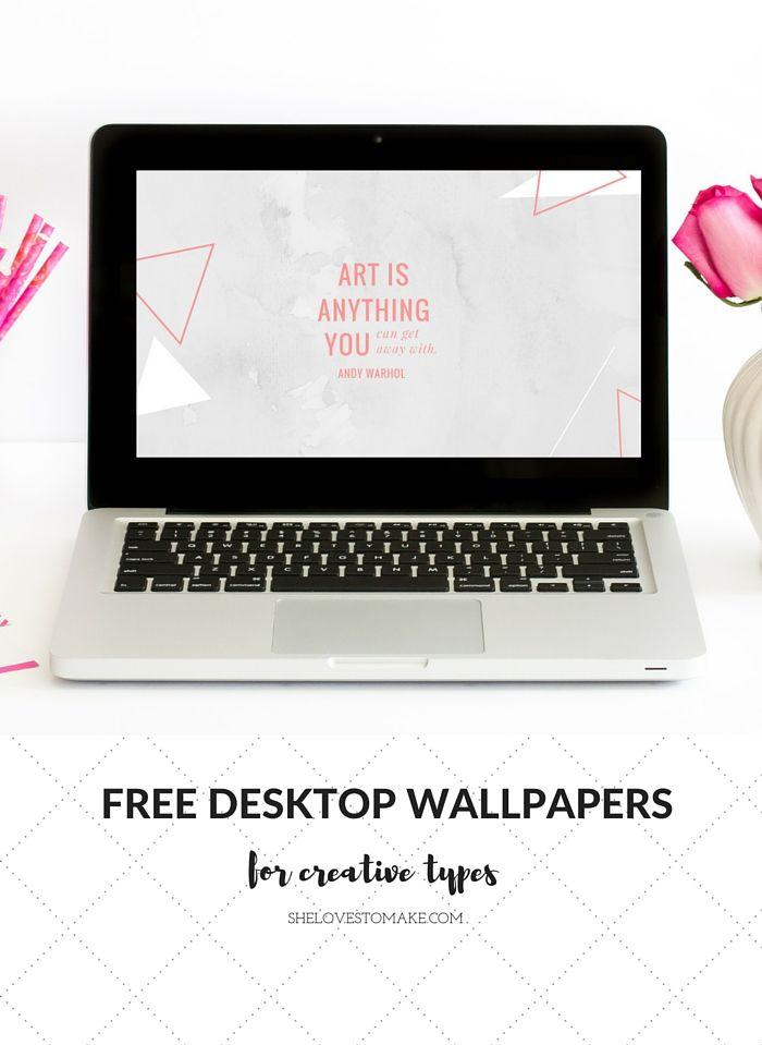 Pretty Tech Andy Warhol Quote Desktop Wallpaper Wallpaper Quotes Free Desktop Wallpaper