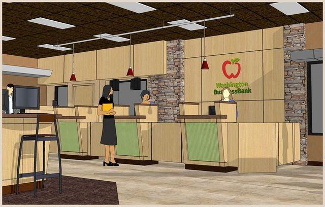 Bank Interior 3D Design | Bank design | Counter design, Home ...