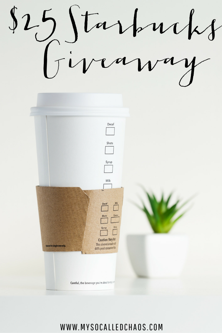 12 Days of Giveaways Day 2 | Giveaway, Starbucks gift card and Starbucks