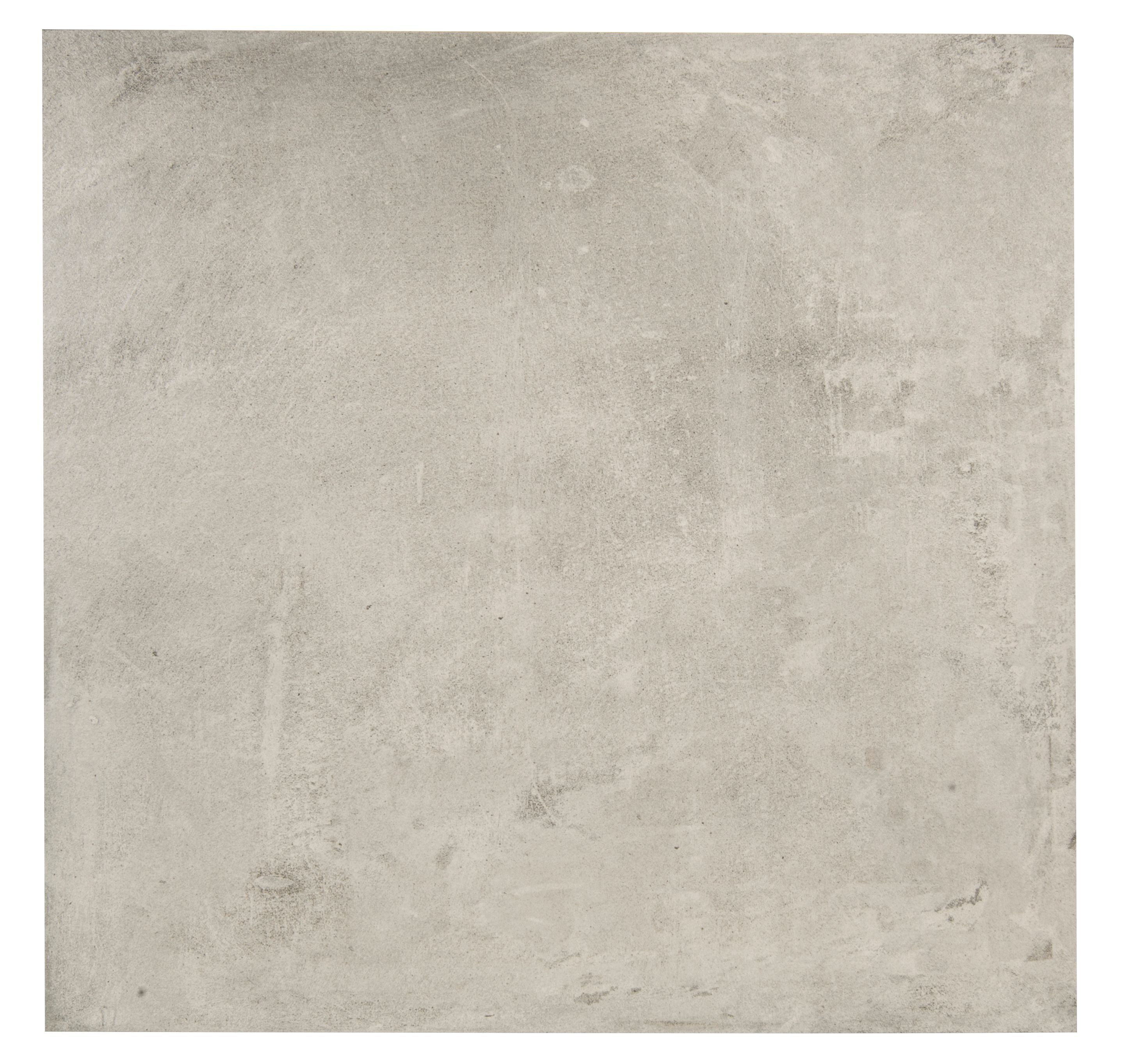 Cementina grey stone effect porcelain floor tile pack of 3 l cementina light grey porcelain floor tile pack of 3 l600mm dailygadgetfo Image collections