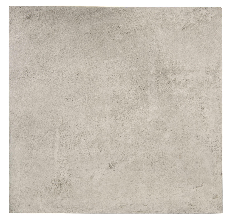 Urban White Stone Effect Ceramic Wall Floor Tile Pack: Cementina Grey Porcelain Floor Tile, Pack Of 3, (L)600mm