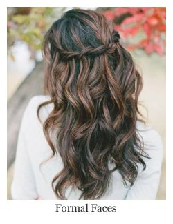 Romantic Bridal Hair Twisted Half Up Half Down With Curls Hairstyle By Fo Prom Hairstyles For Long Hair Braids For Long Hair Wedding Hairstyles For Long Hair