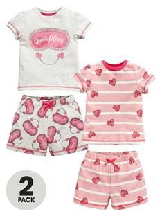 mini-v-by-very-toddler-girls-quiet-please-and-heart-shortie-pyjamas ... cef119a2c