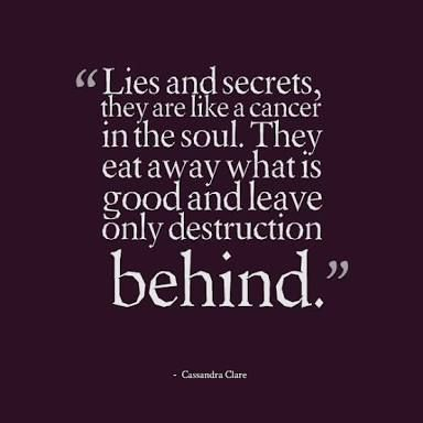 Keeping Secrets Google Search Lies Quotes Keeping Secrets Quotes Spouse Quotes