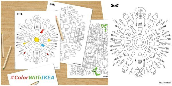IKEA Just Jumped on the Adult Coloring Book Bandwagon