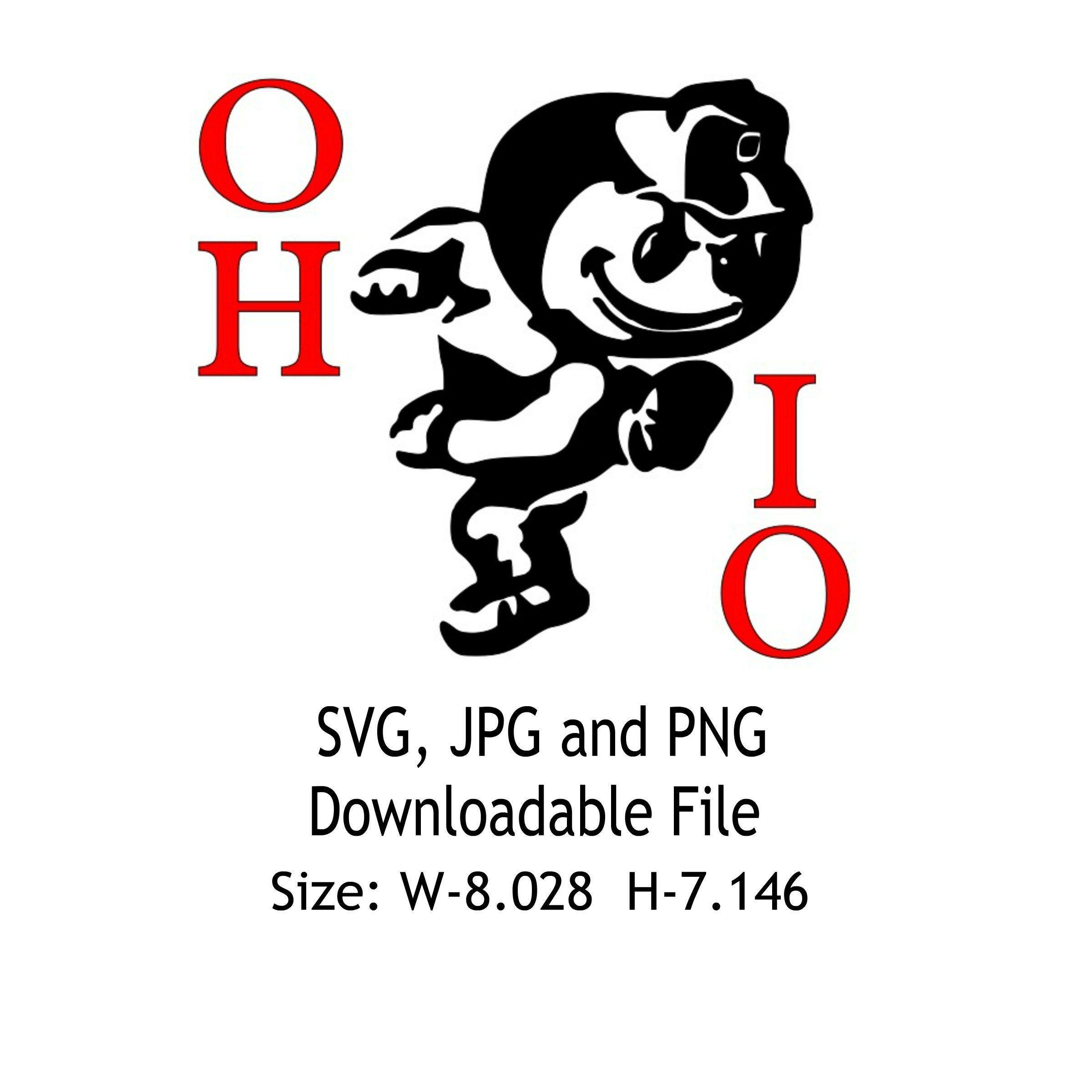 Go Bucks Vinyl Decal Osu Ohio State Buckeye Decal For Car Etsy