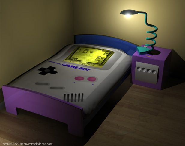 If IKEA Made Geeky Furniture Part 7: Nintendo Bedroom ...
