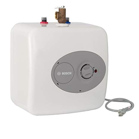 Bosch Electric Mini Tank Water Heater Tronic 3000 T 4 Gallon Es4 Eliminate Time For Hot Water Shelf In 2020 Hot Water Heater Electric Water Heater Water Heater