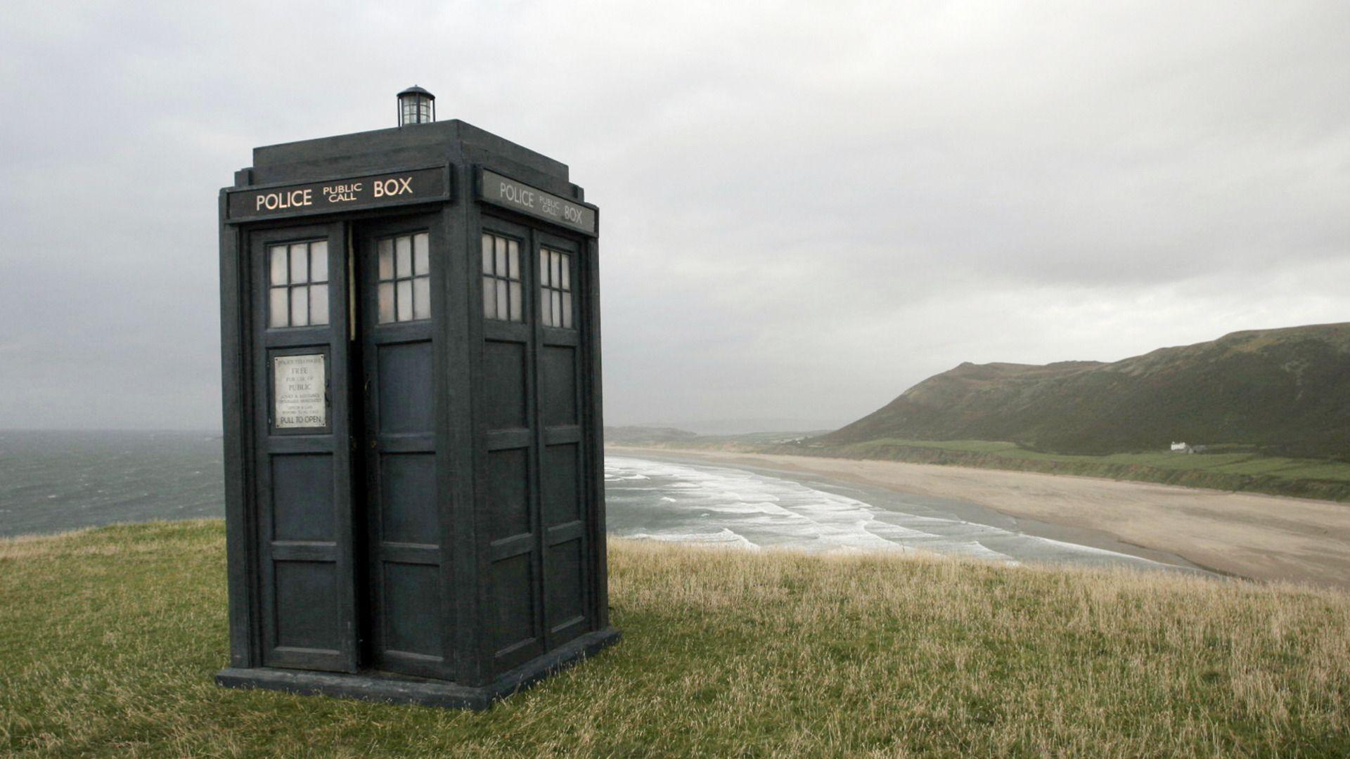 Landscapes Tardis Doctor Who Desktop 1920X1080 Hd -2626
