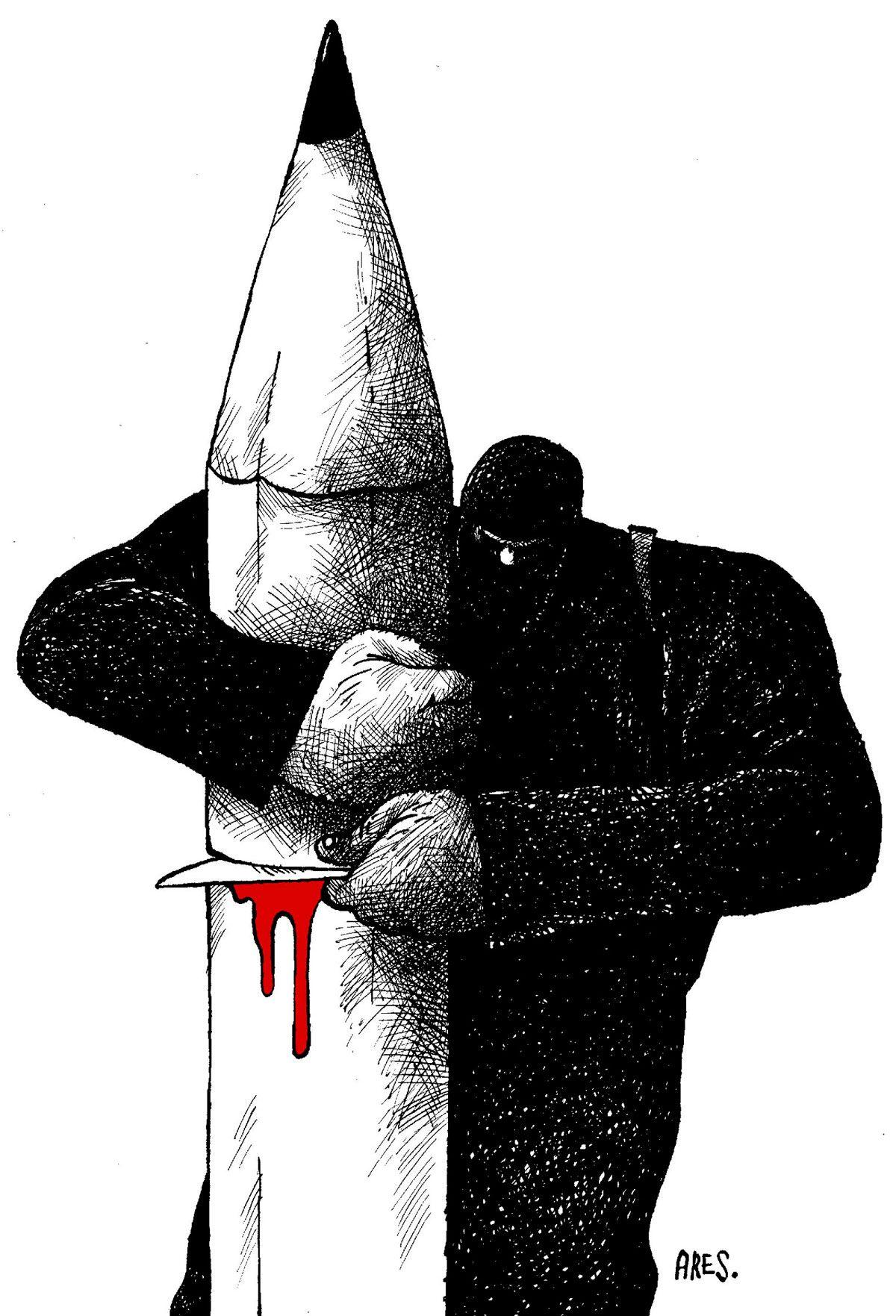 Dessinateurs du monde entier, tous Charlie #jesuischarlie #CharlieHebdo