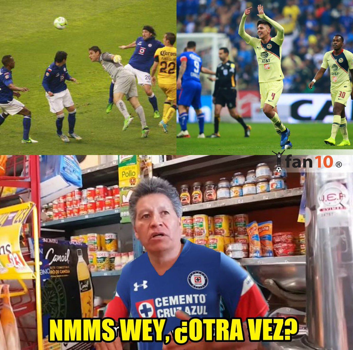 Los memes de la final Cruz Azul vs América Cruz azul vs