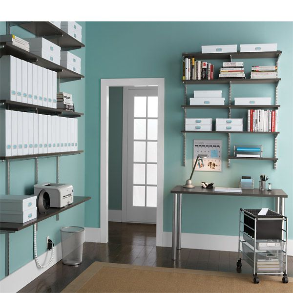 The Container Store > Driftwood Melamine Shelves