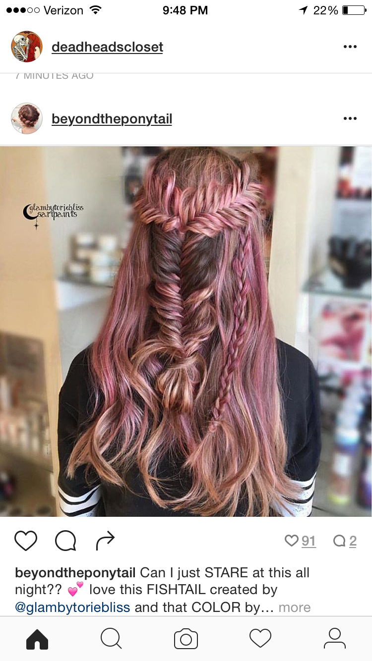 I'm in love with this rose gold coloring