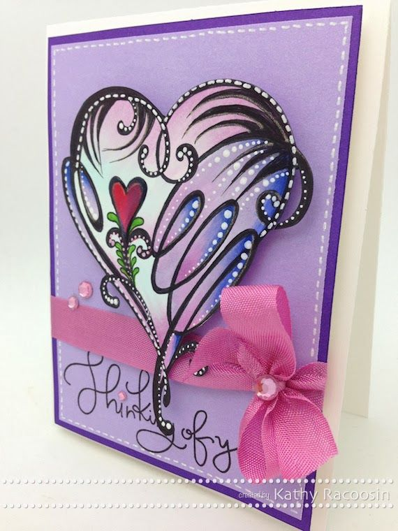 Created using Penny Black stamps. February 2014