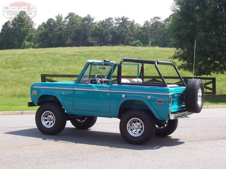 1970 Ford Bronco Sold Ford Bronco Classic Bronco Bronco