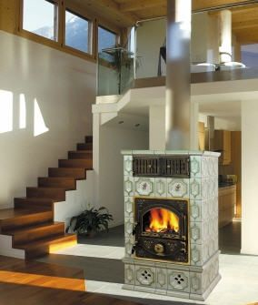 Poele Masse Faience Oliger House Fabulous Fireplaces