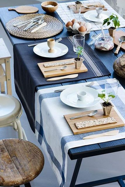 Mismatched Placemats Beautiful Table Settings Table Settings Beautiful Table