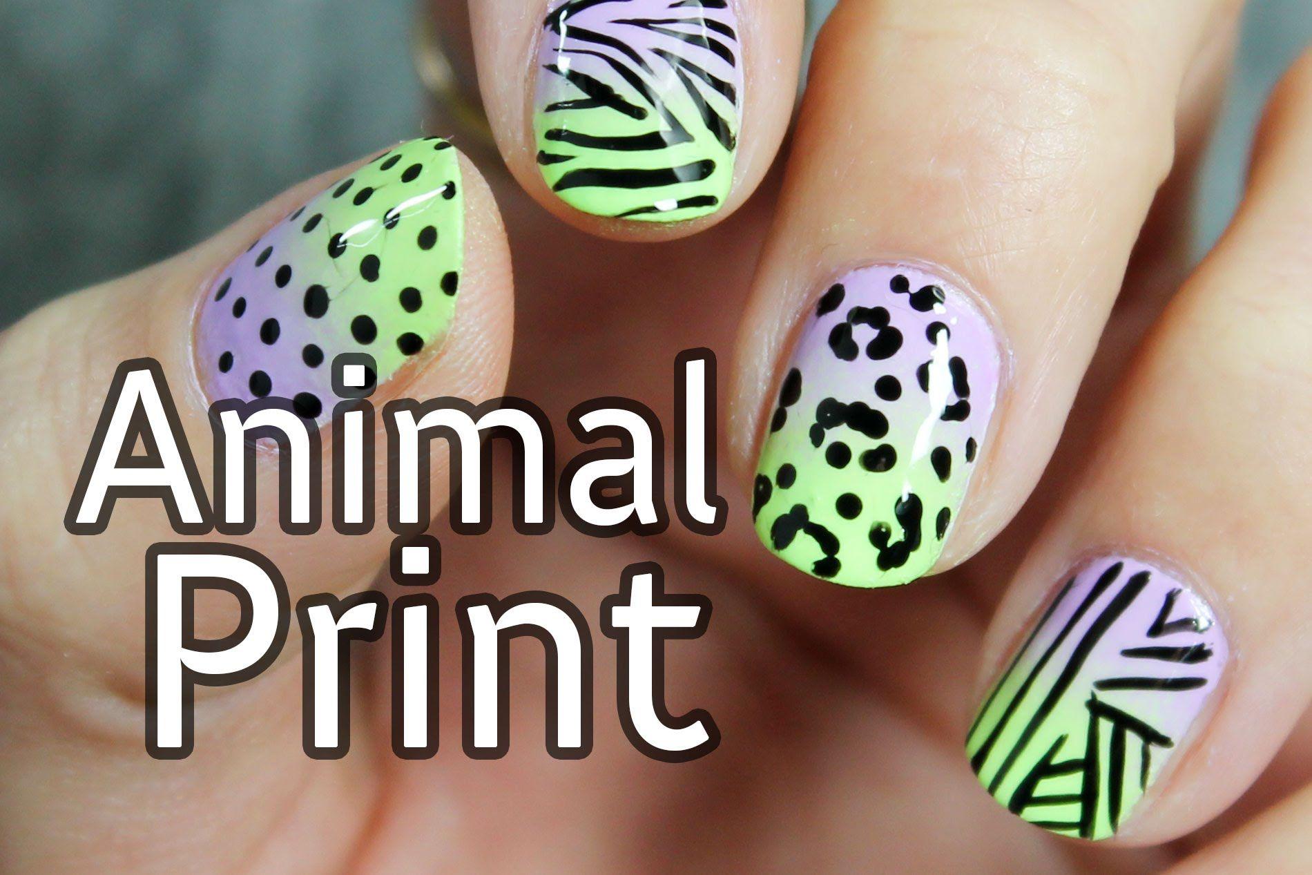 Cómo hacer una decoración de uñas fácil y bonita paso a paso   Uñas ...